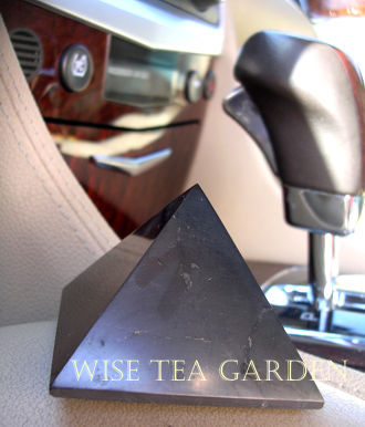 SHUNGITE PYRAMIDS FOR HOME, OFFICE AND CAR