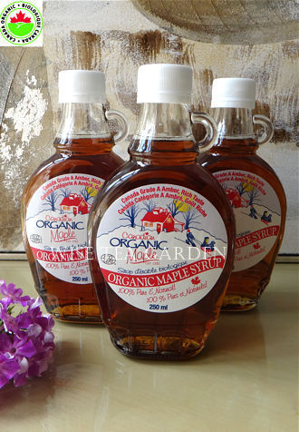 CANADIAN ORGANIC MAPLE SYRUP